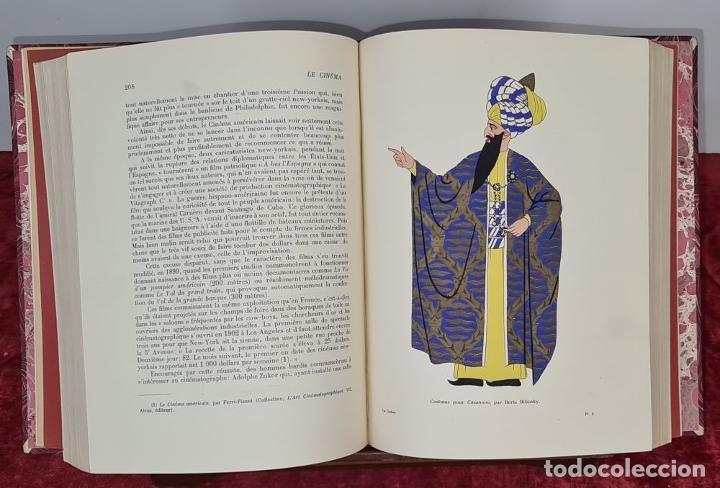 Libros antiguos: LES SPECTACLES ET LE CINEMA A TREVERS LES AGES. EDIT. CYGNE. 3 VOL. 1932. - Foto 5 - 213067011