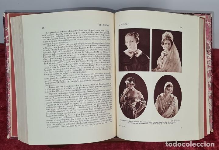 Libros antiguos: LES SPECTACLES ET LE CINEMA A TREVERS LES AGES. EDIT. CYGNE. 3 VOL. 1932. - Foto 6 - 213067011