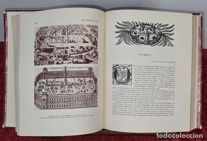 Libros antiguos: LES SPECTACLES ET LE CINEMA A TREVERS LES AGES. EDIT. CYGNE. 3 VOL. 1932. - Foto 9 - 213067011