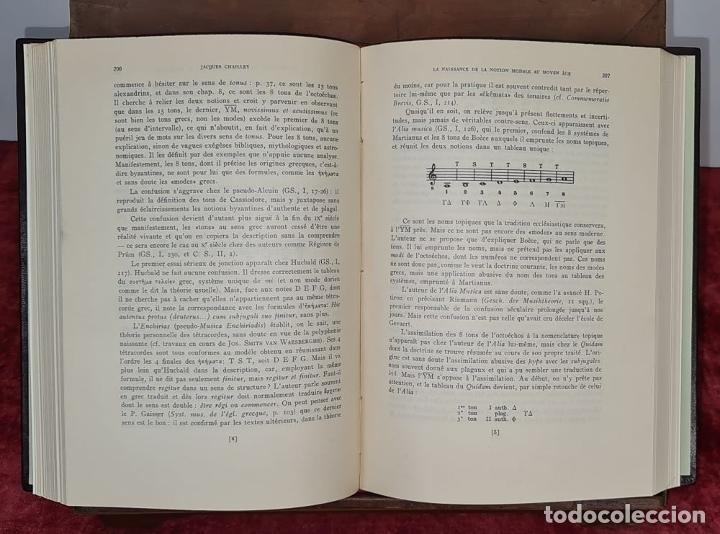 Libros antiguos: MISCELANEA A MONSEÑOR HIGINIO ANGLES. CSIC. 2 VOL. 1958-1961. - Foto 4 - 213126810