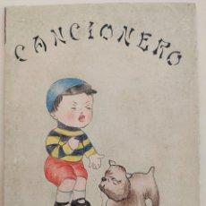 Libros antiguos: CANCIONERO MANUSCRITO ILUMINADO CON DIBUJOS ORIGINALES. FERRETJANS. MALLORCA, 1923.. Lote 213557920