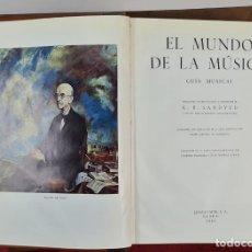 Libros antiguos: EL MUNDO DE LA MUSICA. K.B. SANDVED. EDIT. ESPASA CALPE. 1962.. Lote 213622877