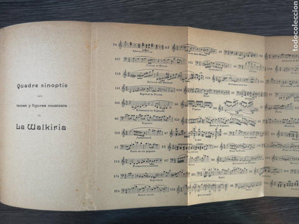 Libros antiguos: LANELL DEL NIBELUNG. LA WALKIRIA. WAGNER. ASSOCIACIÓ WAGNERIANA. 1910. 156 PG. 19 X 14 CM - Foto 3 - 216413761