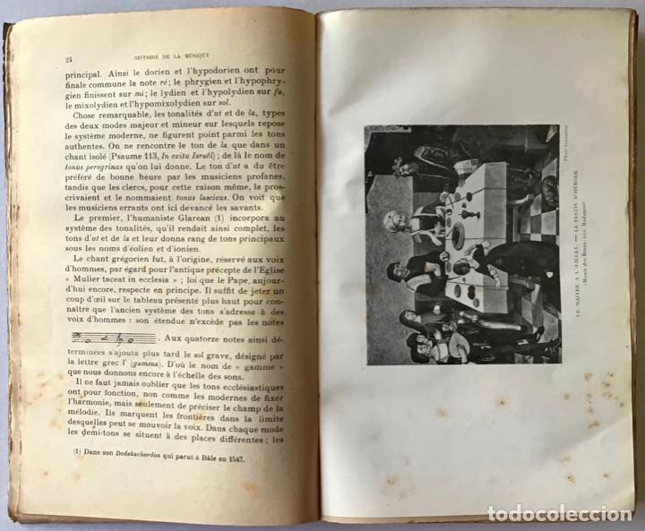 Libros antiguos: HISTOIRE DE LA MUSIQUE. - NEF, Charles. - Foto 3 - 123222854