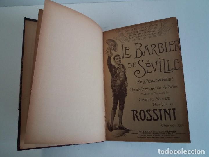 Libros antiguos: BELLO Y CURIOSO EL BARBERO DE SEVILLA O LA PRECAUCION INUTIL ROSSINI OPERA 4 ACTOS MAS DE 160 AÑOS - Foto 13 - 217005033