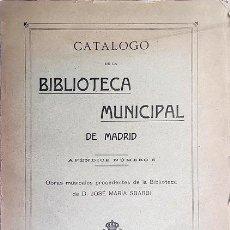 Livres anciens: OBRAS MUSICALES DE LA BIBLIOTECA DE D. JOSÉ MARÍA SBARBI ( 952 FICHAS DEL MUSICÓLOGO SBARBI.. Lote 218282851