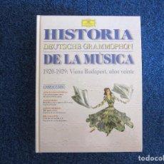 Libros antiguos: HISTORIA DE LA MÚSICA (1920 - 1929: VIENA BUDAPEST, AÑOS 20') - DEUTSCHE GRAMMOPHON. Lote 218708528