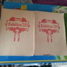 Libros antiguos: JOSÉ FORNS, ESTÉTICA APLICADA A LA MÚSICAI Y II. 1929. Lote 210799795