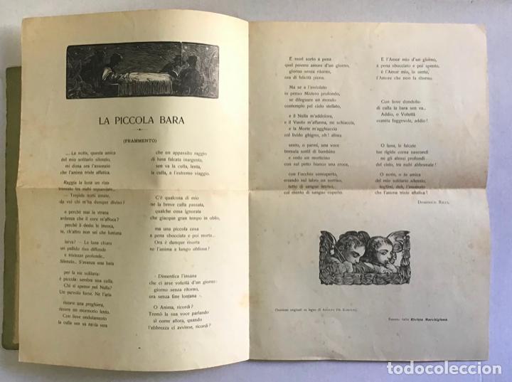 Libros antiguos: EPIGRAMMI E SONETTI. - RICCI, Domenico. PRIMERA EDICIÓN - DEDICADO - Foto 4 - 123237139