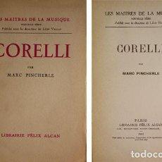 Libros antiguos: PINCHERLE, MARC. CORELLI. 1933.. Lote 226370820