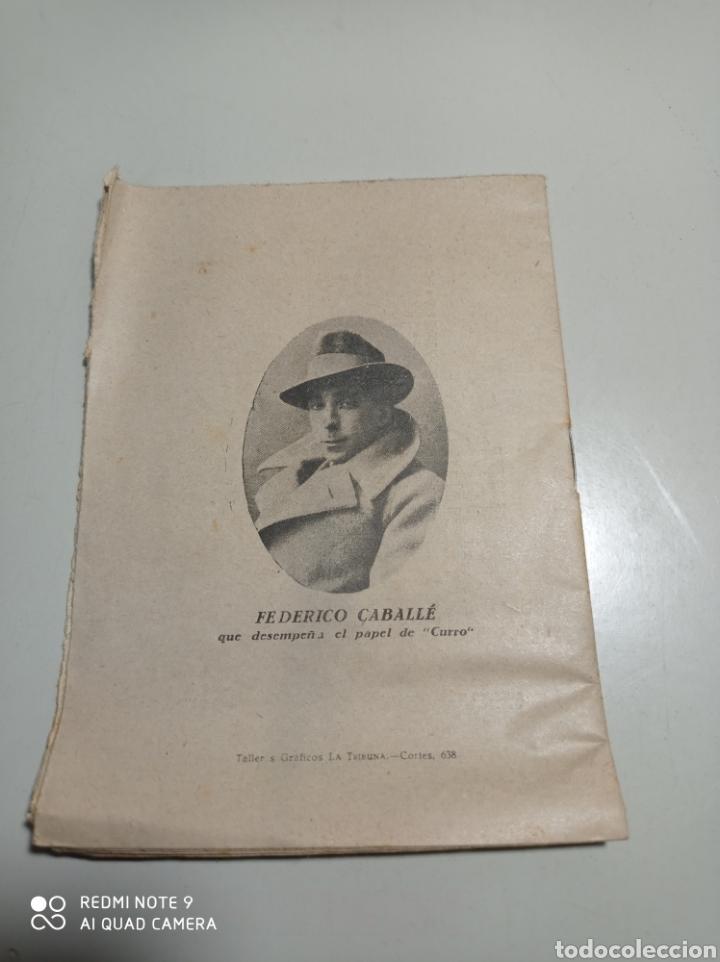 Libros antiguos: Librillo de cantables de la Zarzuela El sol de Sevilla. pone 1872. Ramón peña y Federico Caballé. - Foto 2 - 229242700