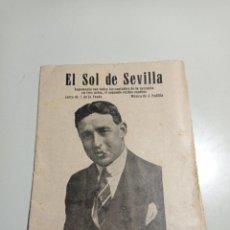 Libros antiguos: LIBRILLO DE CANTABLES DE LA ZARZUELA EL SOL DE SEVILLA. PONE 1872. RAMÓN PEÑA Y FEDERICO CABALLÉ.. Lote 229242700