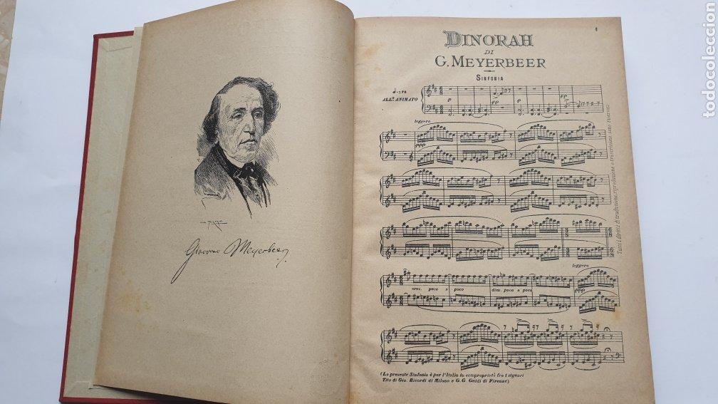 Libros antiguos: 2 Óperas de Giacomo Meyerbeer DINORAH Y IL PROFETA - Foto 3 - 230859970
