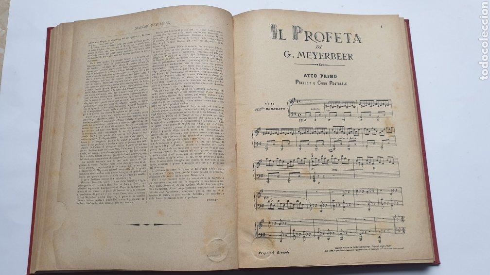 Libros antiguos: 2 Óperas de Giacomo Meyerbeer DINORAH Y IL PROFETA - Foto 8 - 230859970