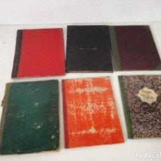 Libros antiguos: LOTE DE 6 ANTIGUOS LIBROS DE MÚSICA CON PARTITURAS, GUITARRA, PIANO, VIOLA..., PPIOS XX. Lote 234395755
