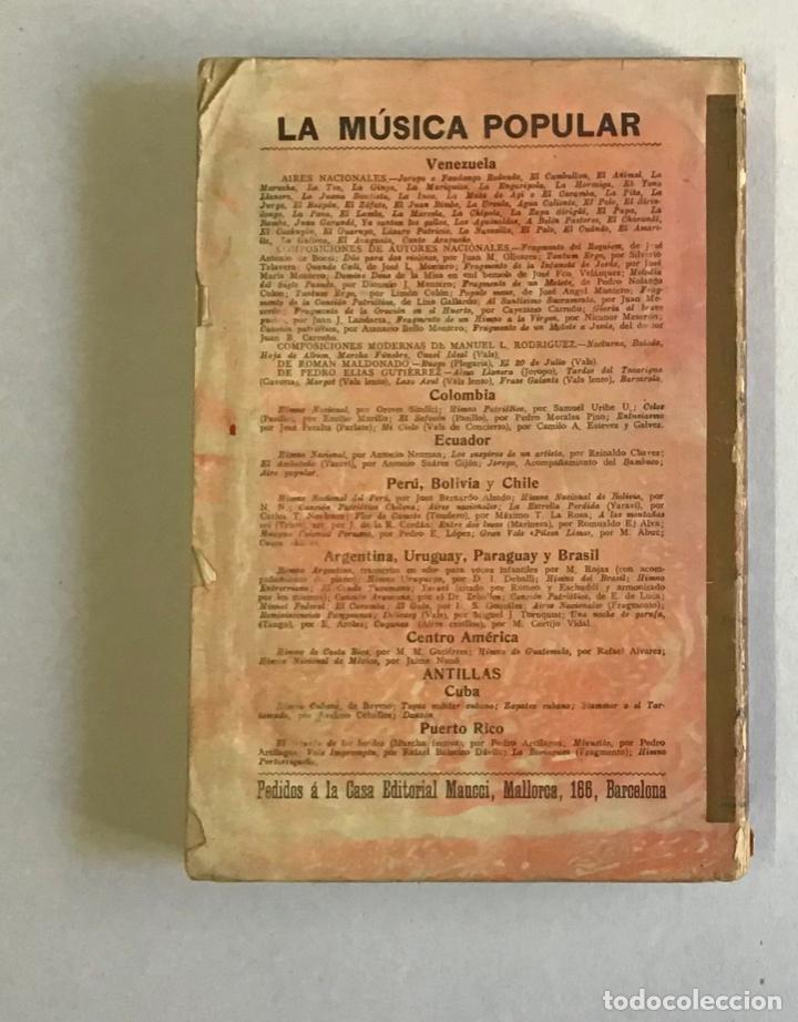 Libros antiguos: LA MÚSICA POPULAR Y LOS MÚSICOS CÉLEBRES DE LA AMÉRICA LATINA. - CORTIJO A., L. - Foto 3 - 268298479