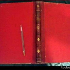 Libros antiguos: ELEGANTE LIBRO DE PARTITURAS EN TAPA DURA. SIGLO XIX?. Lote 235373600