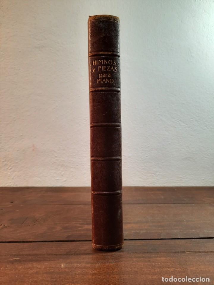 Libros antiguos: HIMNOS Y PIEZAS PARA PIANO - COLECCION DE HIMNOS NACIONALES Y OBRAS VARIADAS - Foto 4 - 239906495