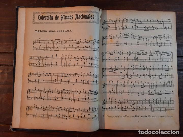 Libros antiguos: HIMNOS Y PIEZAS PARA PIANO - COLECCION DE HIMNOS NACIONALES Y OBRAS VARIADAS - Foto 6 - 239906495