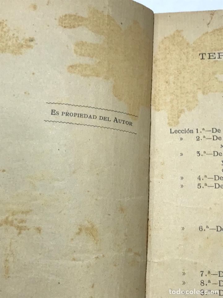 Libros antiguos: Nociones técnicas de solfeo Amancio Amoros 1ª Esicion 1909 - Foto 3 - 245483775