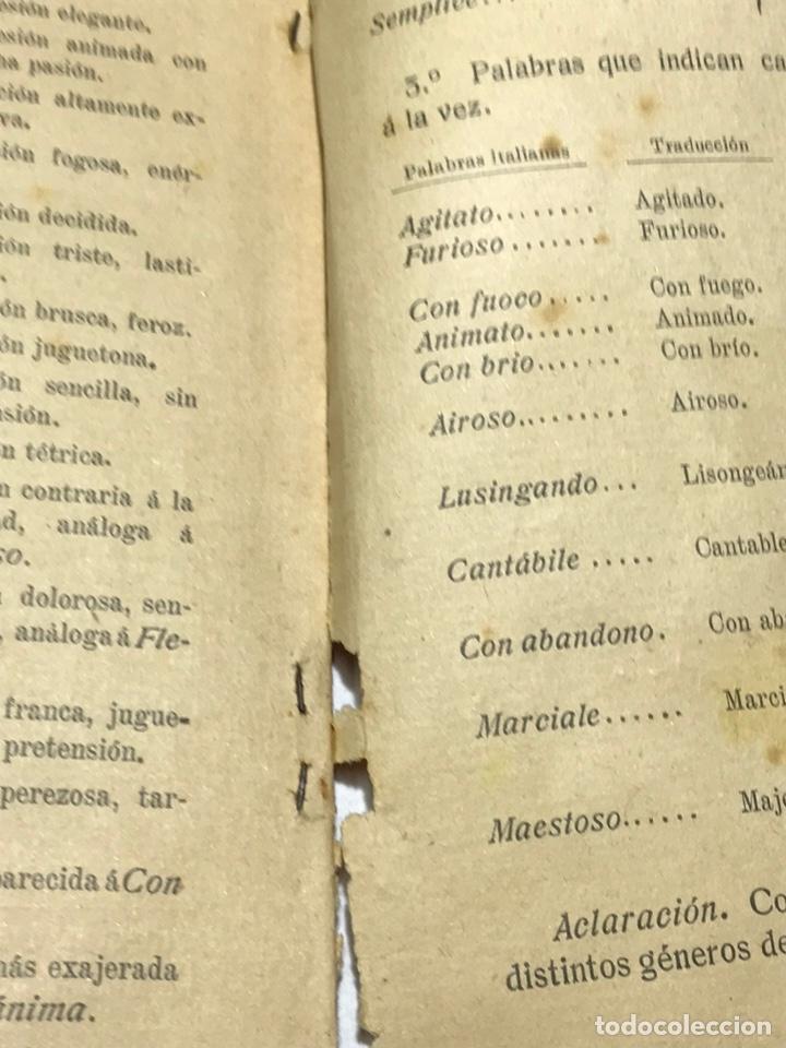 Libros antiguos: Nociones técnicas de solfeo Amancio Amoros 1ª Esicion 1909 - Foto 5 - 245483775