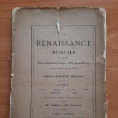 Libros antiguos: 1883 HENRY VIII ET L´OPÉRA FRANÇAIS - EN FRANCÉS. Lote 252076250
