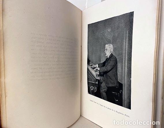 GABRIEL FAURÉ Y SU OBRA. (1921) POR VUILLEMIN. BIBLIOTECA VILLAR (Libros Antiguos, Raros y Curiosos - Bellas artes, ocio y coleccion - Música)