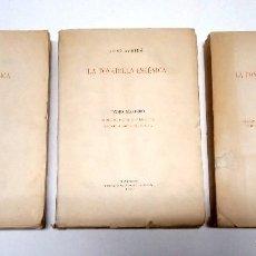 Libros antiguos: SUBIRÁ, JOSÉ. LA TONADILLA ESCÉNICA. 3 VOLÚMENES. 1929-1930.. Lote 257316330