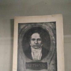 Libros antiguos: BEETHOVEN. DR. D. RAFAEL ROMERO RODRÍGUEZ. FIRMADO Y DEDICADO POR EL AUTOR.. Lote 265996773