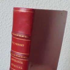 Libros antiguos: ANTOLOGÍA MUSICAL. GUÍA DE AUDITORES. - VERNET, MARÍA TERESA.-. Lote 266913264