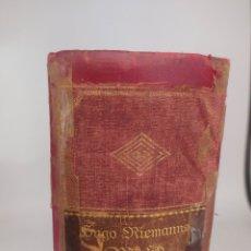 Libros antiguos: MUSIKLEXIKON. HUGO RIEMANNS. 1919. EN ALEMAN. Lote 269075118
