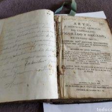 Libros antiguos: ARTE O COMPENDIO GENERAL DEL CANTO-LLANO , FIGURADO Y ORGANO EN MÉTODO FÁCIL , MADRID ,M.DCCC.XVI.. Lote 269800808