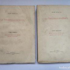 Libros antiguos: JOSÉ SUBIRÁ - LA TONADILLA ESCÉNICA + TONADILLAS TEATRALES INÉDITAS (4 VOL.). Lote 270362543