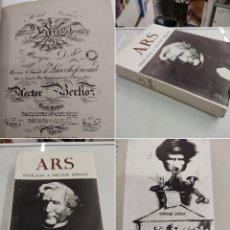 Libros antiguos: DEDICADO A HECTOR BERLIOZ MONOGRAFIA REVISTA DE ARTE ARS 1968 MONUMENTAL VOLUMEN ILUSTRADO. Lote 271603903
