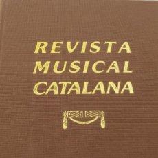 """Libros antiguos: REVISTA MUSICAL CATALANA. BUTLLETÍ MENSUAL DEL """"ORFEÓ CATALÀ"""". AÑO 1906. Lote 272753008"""