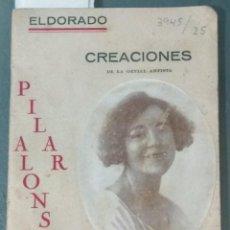 Libros antiguos: LIBRITO EL DORADO. CREACIONES DE PILAR ALONSO TOURNÉE. 1920 - 1921.. Lote 273754723