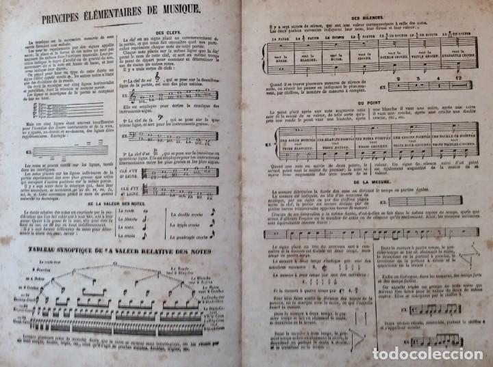 Libros antiguos: Méthode de Flute a clés & a Systéme Boehm... para Devienne. 185? Raro. Ilustrado. - Foto 3 - 276111158