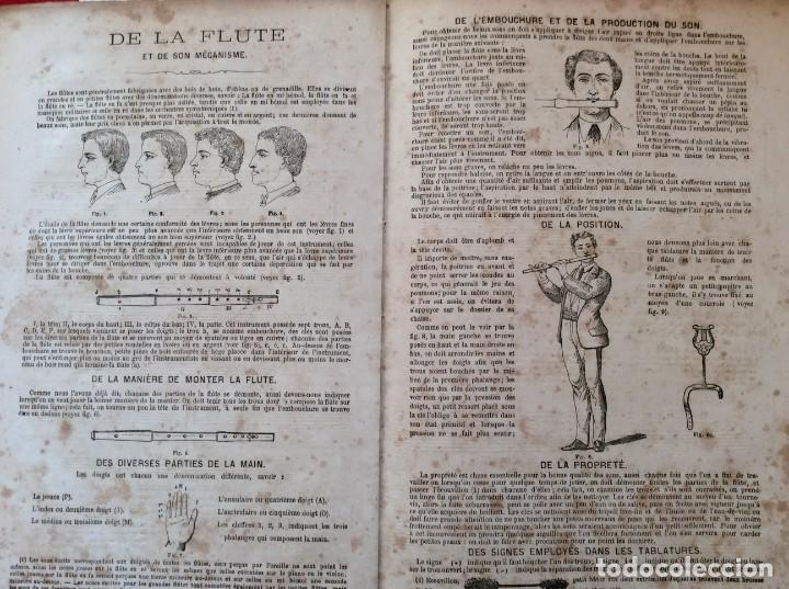 Libros antiguos: Méthode de Flute a clés & a Systéme Boehm... para Devienne. 185? Raro. Ilustrado. - Foto 5 - 276111158