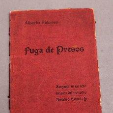 Livres anciens: ZARZUELA - ALBERTO PELAIREA - AMADEO BUSCÓ - SITGES 1906. Lote 276682878