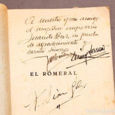 Libros antiguos: ZARZUELA - JOSÉ MUÑOZ Y DOMINGO SERRANO - DEDICATORIA AUTÓGRAFA DE LOS AUTORES Y FIRMA DE DÍAZ GILES. Lote 277493173
