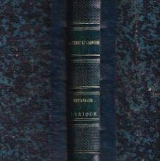 Livres anciens: CLÉMENT Y LAROUSSE: DICCIONARIO LÍRICO O HISTORIA DE LAS ÓPERAS. EN FRANCÉS. S. XIX. MÚSICA ÓPERA. Lote 284514408