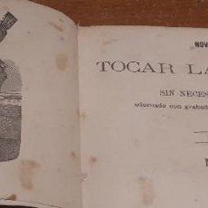 Livres anciens: NOVÍSIMO ARTE DE TOCAR LA GUITARRA POR CIFRA, SIN NECESIDAD DE MAESTRO. MADRID, 1866. POR D. E. M. Lote 286269683