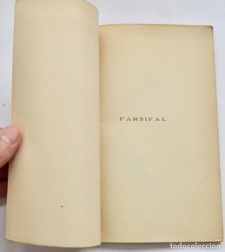 Libros antiguos: Hans Von Wolzogen. Parsifal. Guía Temática Completa. Estudio del Poema Literario y del Musical. 1914 - Foto 2 - 286728018
