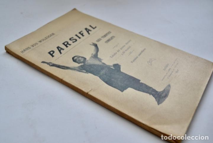 Libros antiguos: Hans Von Wolzogen. Parsifal. Guía Temática Completa. Estudio del Poema Literario y del Musical. 1914 - Foto 9 - 286728018