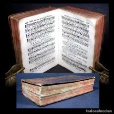 Libros antiguos: AÑO 1780 ÚNICO EN EL MUNDO! PARTITURAS MÚSICA ANTIPHONARII ROMANI NOTACIÓN GRABADOS ANTIFONARIO. Lote 286884703