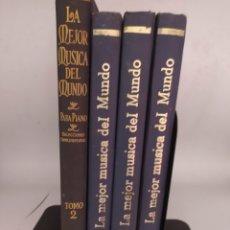 Libros antiguos: LA MEJOR MÚSICA DEL MUNDO THE UNIVERSITY SOCIETY VERSIÓN HISPANOAMERICANA NUEVA YORK 1922. Lote 294962063