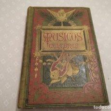 Libros antiguos: MÚSICOS CÉLEBRES BIOGRAFÍAS DE LOS MAS ILUSTRES COMPOSITORES S. XVIII HASTA S. XX POR FÉLIX CLEMENT. Lote 296731298