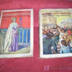 Libros antiguos: LA REVOLUCION FRANCESA HISTORIA DE LAS GIRANDINAS 2 TOMOS. Lote 5416523