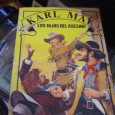 Libros antiguos: KARL MAY, LOS HIJOS DEL ASESINO. Lote 22340108