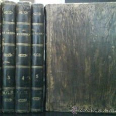 Libros antiguos: 1842 EUSEBIO - PEDRO MONTAGON / 5 TOMOS. Lote 17907937